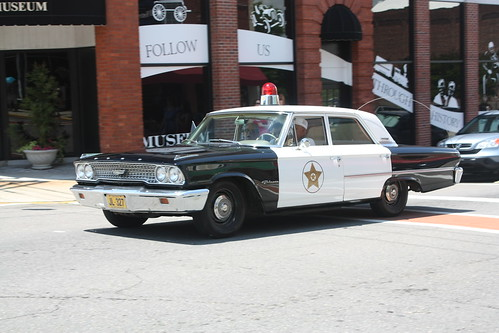 Mayberry Police Car