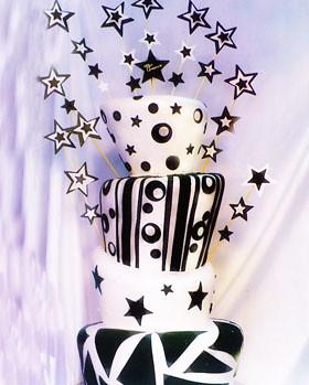 Torta 15 Black Stars