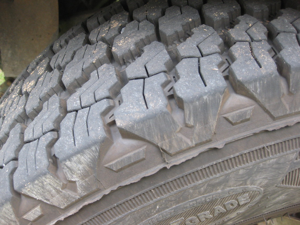 Tread on the tyres of our 75 Series Toyota Landcruiser for sale