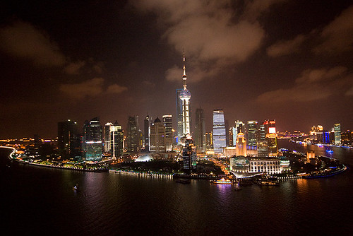 On the Bund, Shanghai