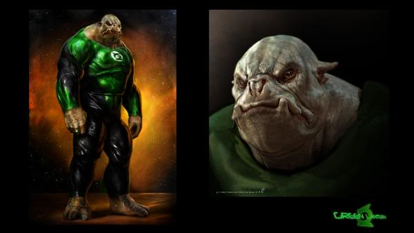 Kilowog Green Lantern Movie