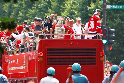 Jonathan Toews and the Stanley Cup