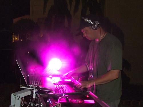 Asheville's DJ Brett Rock killin' it at the Solar Stage