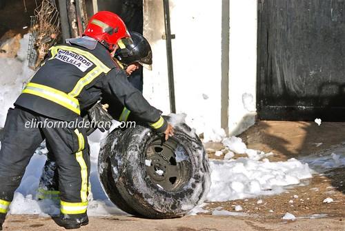 Incendio Carretera Yasinen 12-06-2010