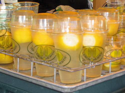 Sawan Mela South Asian Summer Festival, lemonade drinks