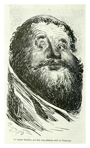 017-El monje Amador-Les contes drolatiques…1881- Honoré de Balzac-Ilustraciones Doré