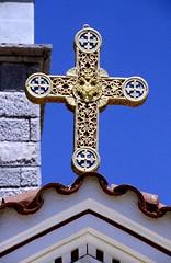 Rhodos 98 - Archangelos Goldkreuz (konstantin.milenkovic) Tags: sea village aegean royal greece lindos rhodos mittelmeer mediterrenian gis
