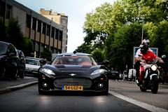 Spyker C8 Aileron ([ JR ]) Tags: street black holland dutch car canon eos noir d spot parade exotic mans le 17 28 50 tamron rare supercar schwarz 2010 sighting 550 spyker c8 aileron 550d fialeix