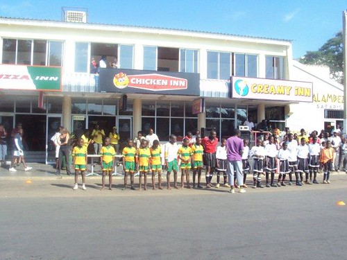 Victoria Falls World Cup Clean Up Celebration