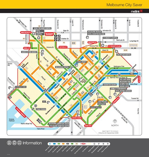 City Saver zone map (2010)