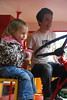 Out for a ride in my fire engine.