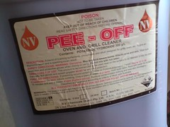 Great name for oven cleaner!