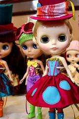 Trio's dolls