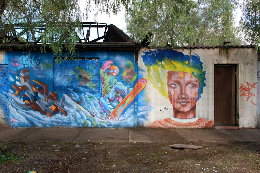 Mural, Avda Carrascal 2