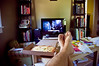 171/365 - Father's Day for me (Micah Taylor) Tags: feet up movie tv toes solitude den pizza fathersday netflix alonetime broadwaypizza project365 countofmontecristo watchinstantly