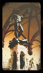 Perseus hält das Medusenhaupt von Benvenuto Cellini, Florenz
