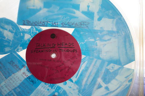 Talking Heads Colored Vinyl