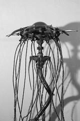méduse détail2 (pedrobigore) Tags: sculpture chien table bateau poisson métal fer masque acier danseuse récup volant bestioles récupération soudure soudeur féraille akouma hipocamppe