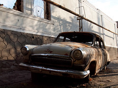Osh after riots 2010 (Evgeni Zotov) Tags: auto street city car june town riot war asia district ruin gaz un help burn civilwar unitednations kyrgyzstan volga 2010 destroy marauder osh mahalla uzbek kirghizistan kirgistan kirgizia kirgizistan  kirgizi kirgisistan   kirguistan kirghizia krgzistan quirguisto june2010