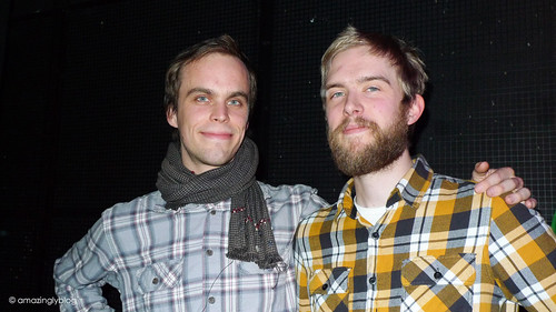 Peter Broderick(US) and Tsukimono/Johan G. Winther(SWE) at Flèche d'Or, Paris