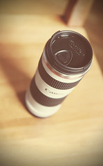 My homemade coffee just got a whole lot better! (Ponteuf {lighteningmyload}) Tags: coffee canon lens mug