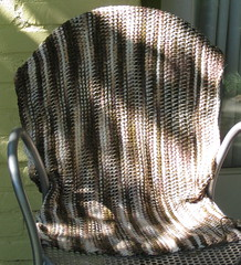 Turkish stitch baby blanket