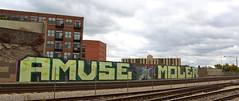 AMUSE MOLER (Eclectic Dyslexic) Tags: chicago de graffiti mole mul abk amuse