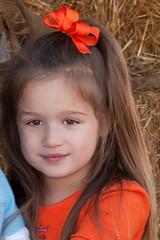 Madeleine in the hay (Brian Leon of Ottawa) Tags: family autumn portrait pumpkin pumpkinpatch madeleine faceofportraits