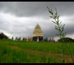 (prashkan) Tags: india green tower garden botanical bokeh bangalore karnataka lalbagh kempegowda bengaluru