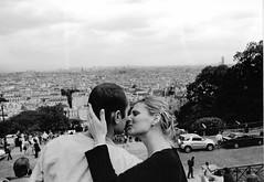 (tamsin rose) Tags: city blackandwhite paris france love film 35mm kiss soft sweet marriage romance sensual romantic lovely emotional tender gentle sense