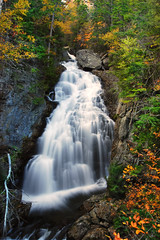 Crystal Cascade - New Hampshire (VermontDreams) Tags: autumn fall waterfall october newhampshire whitemountains nh falls waterfalls 2010 ellisriver cooscounty crystalcascade wnywaterfallers pinkhamsgrant