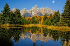 Heaven's Reflection (Aspenbreeze) Tags: autumn lake snow mountains water reflections river landscape bravo snakeriver wyoming grandtetons tetonmountains fallseason supershot schwabacherslanding tetonnationalpark flickrdiamond bestcapturesaoi aspenbreeze elitegalleryaoi mygearandmepremium mygearandmebronze dblringexcellence