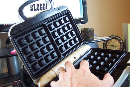 Waffle Blogging