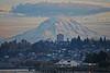 Rainier and waterfront (peter roslan) Tags: city cloud mountain cityscape waterfront rainier pugetsound tacoma mountrainer northwestwashington