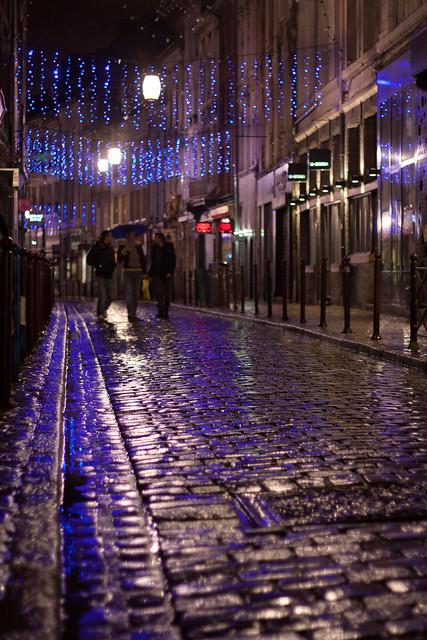 Rue de la clef à Lille par Franck Vervial