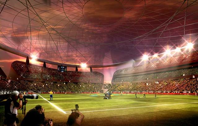 Qatar estadio Lusail FIFA Mundial de Fútbol 2022