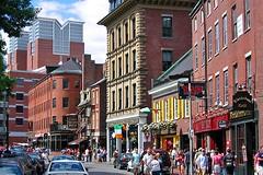 Union Street (AntyDiluvian) Tags: boston massachusetts street unionstreet quincymarket faneuilhallmarketplace haymarket