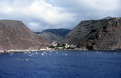319z St Helena Island, South Atlantic Ocean.