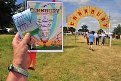 188 2017 the last Cornbury Festival (Margaret Stranks) Tags: 188365 365days 2017 cornburyfestival greattew oxfordshire uk programme wristband lanyard