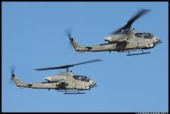 AH-1W Super Cobras_HMLA-469 (Scramble4_Imaging) Tags: bell ah1 ah1w supercobra cobra attack helicopter marines unitedstatesmarines usmc weapon military aviation aerospace