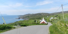 Welcome to Aird, Sleat, Isle of Skye, May 2017 (allanmaciver) Tags: aird point sleat isle skye water weather west coast houses steep narrow single track road telegraph pole wire crofts allanmaciver