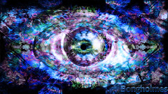 Trippy Eye (Bongholmes) Tags: trippy eye photoshop art arts creative creativity lsd dmt hallucinogen bongholmes trip colors vivid dark gaze watcher artist fractals derp