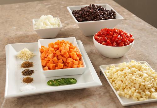 Black Bean & Sweet Potato Soup 1of6