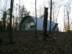 SteelMaster Metal Arch Cabin