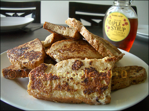 crusty bread french toast