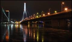 DSC_0188 (Bargais) Tags: longexposure bridge lights latvia riga rīga latvija saulesakmens ledus daugava tilts atspulgs