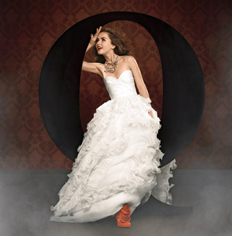 Romantic Wedding Dresses Spring 2010