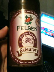 Felson Felsator Doppelbock (*NoName*) Tags: beer germany bottle europe label hell ale german bier pils dunkel lager bock pilsner draft dunkle weissbier pilsener draught beertasting beerhunter christmasbeer wheatbeer dopplebock festbier helles winterbier