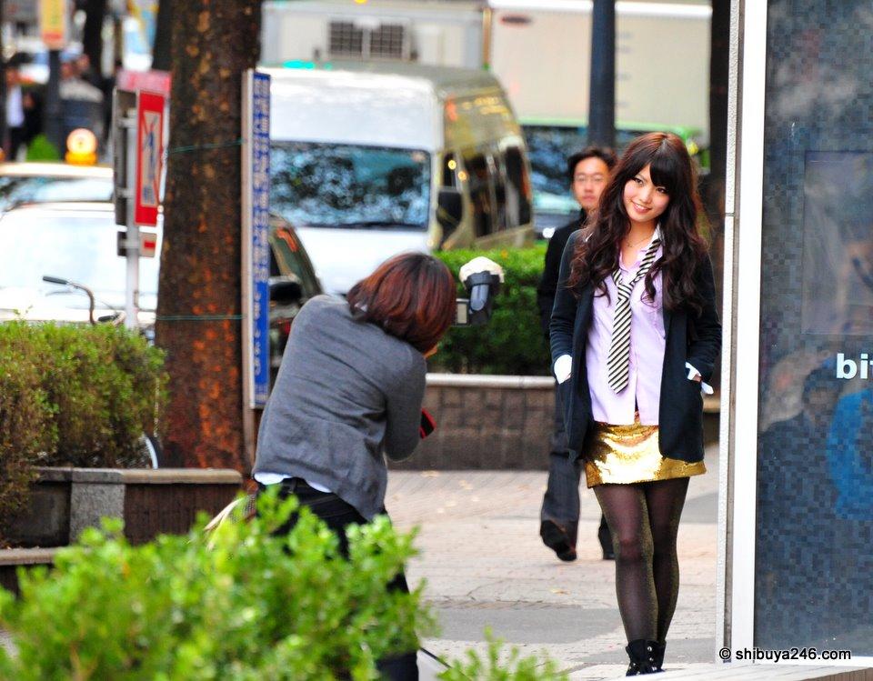 Shibuya street modelling