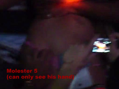 The silence molester 5 strikes with just a bare hand in view